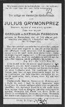 Julius Grymonprez.