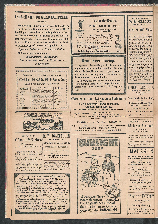 De Stad Kortrijk 1911-10-21 p4