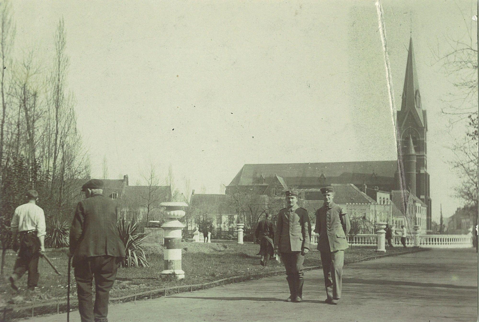 Volkspark in Wereldoorlog I