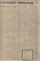 Kortrijksch Handelsblad 7 juli 1945 Nr54 p1