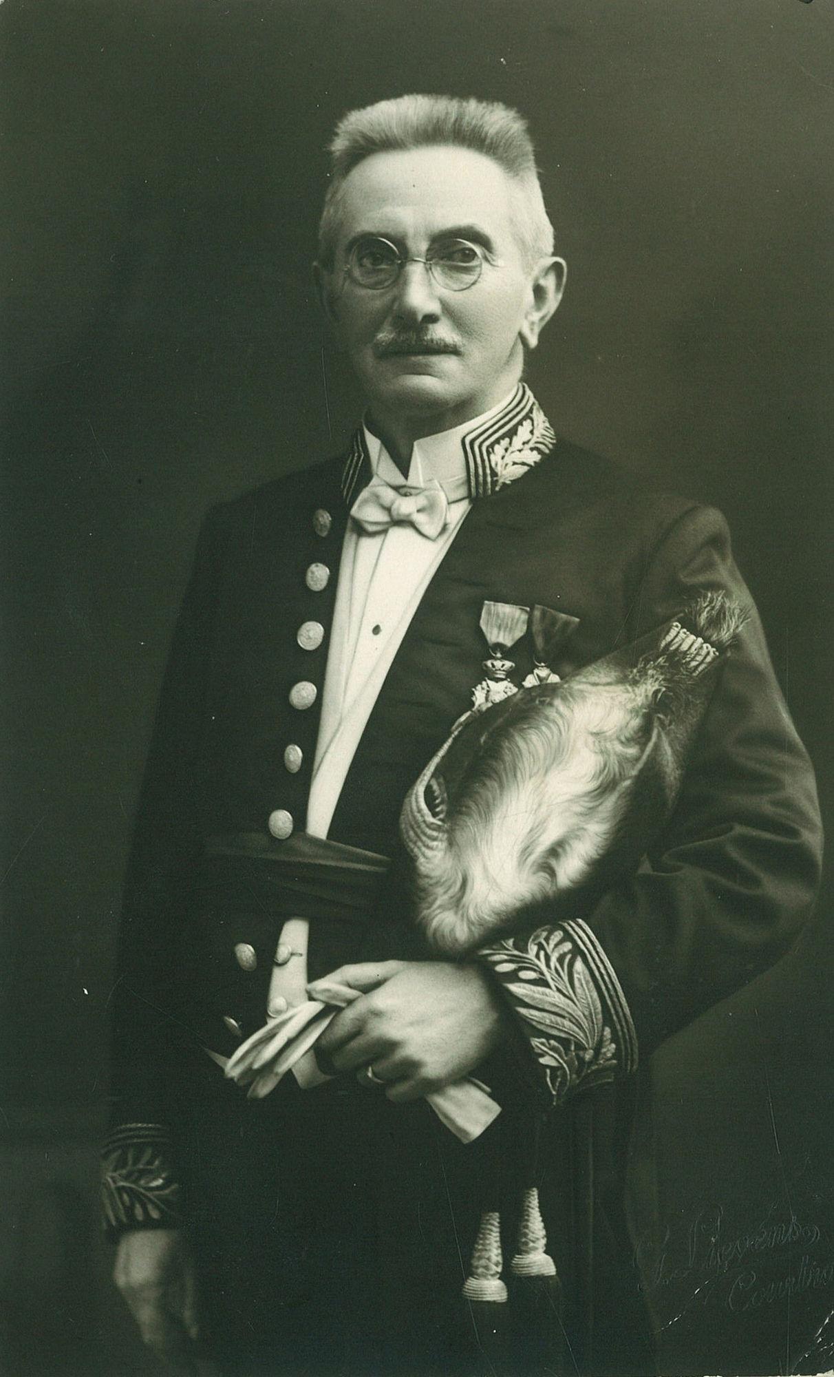 Burgemeester Leopold Gillon