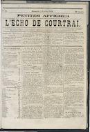 L'echo De Courtrai 1873-02-02
