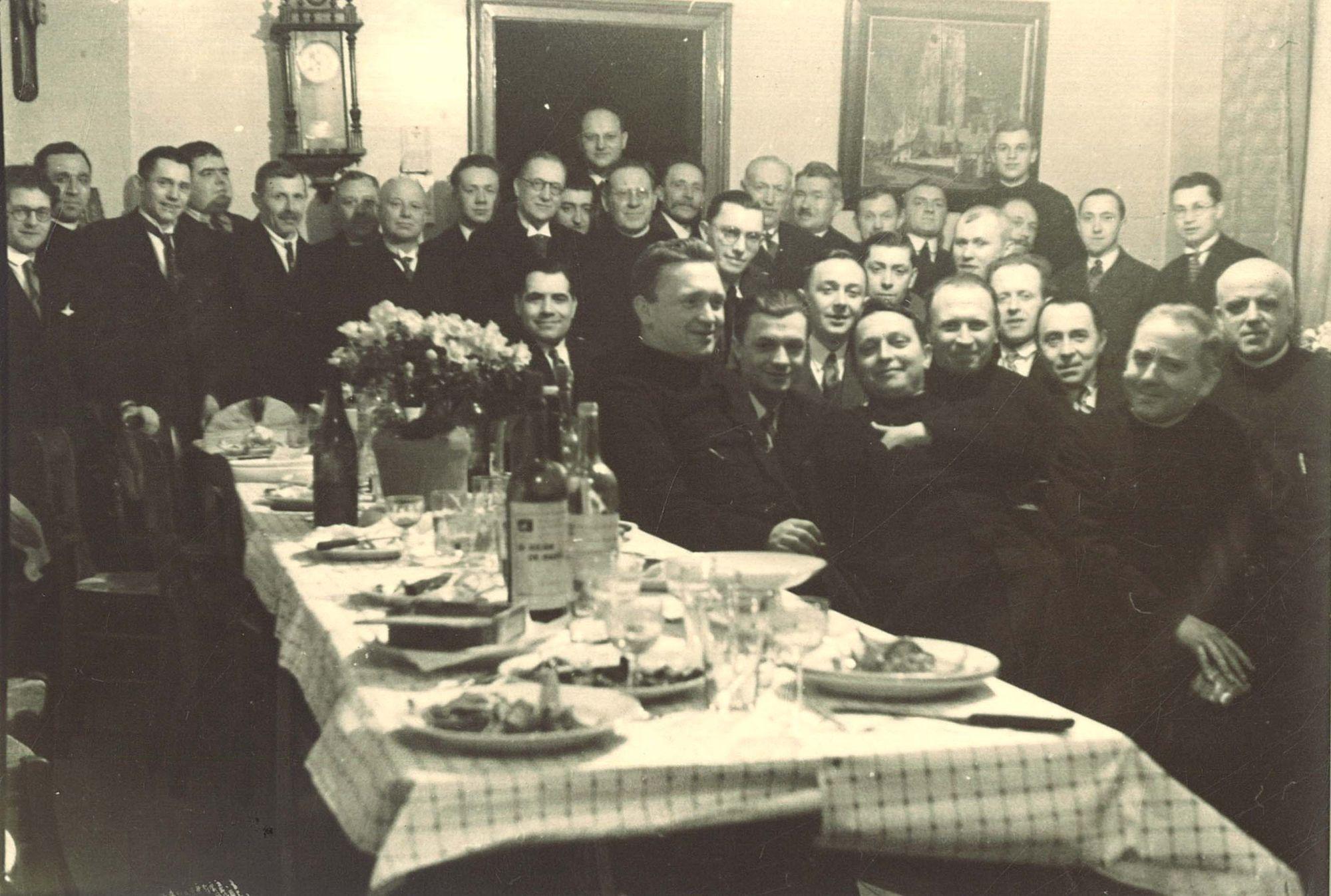 Jaarfeest 1934 Broederschool Overleie