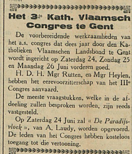 Het Kathi Vlaamsch Congres