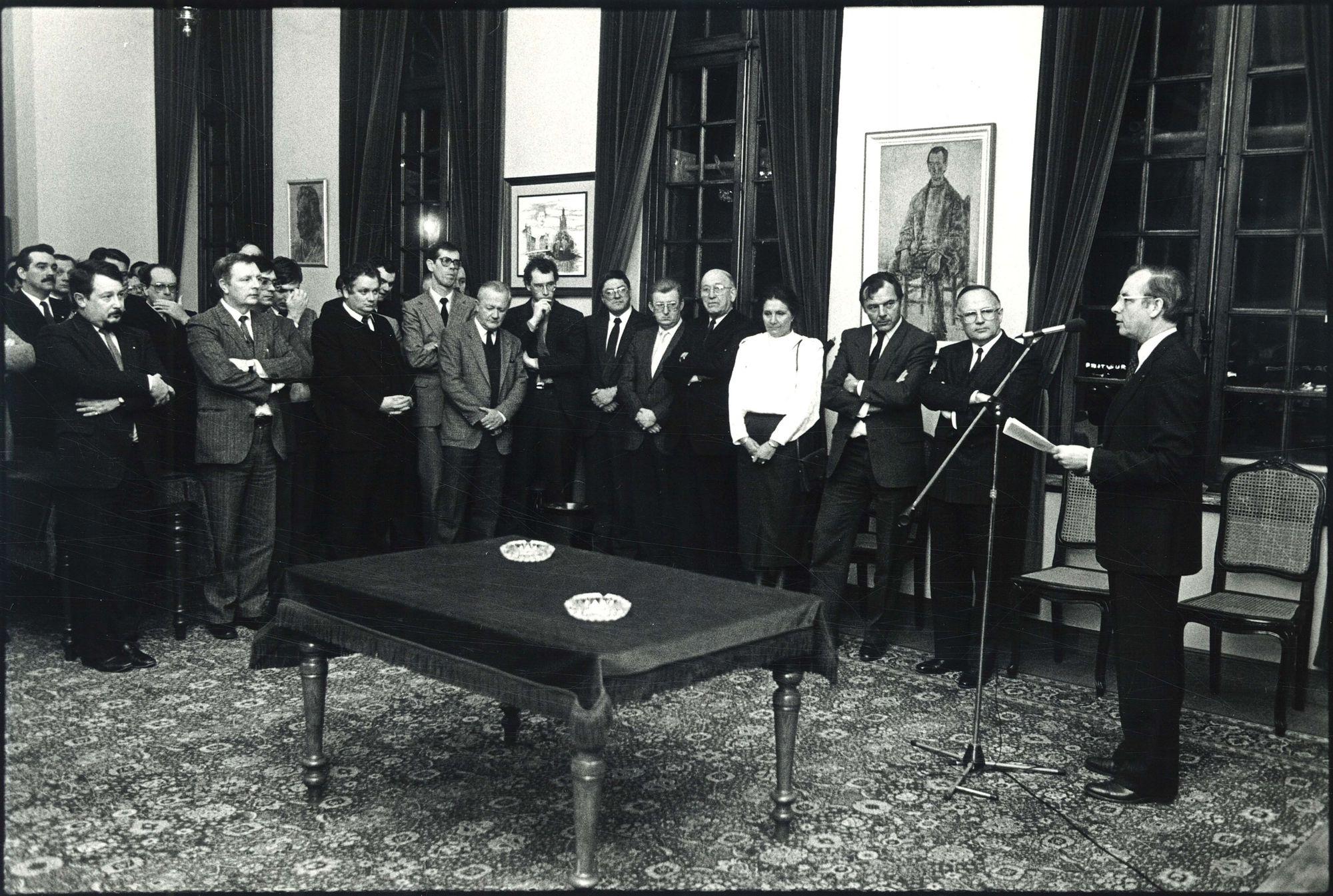 Nieuwjaarsreceptie Kamer Roeselare-Izegem-Tielt 1987