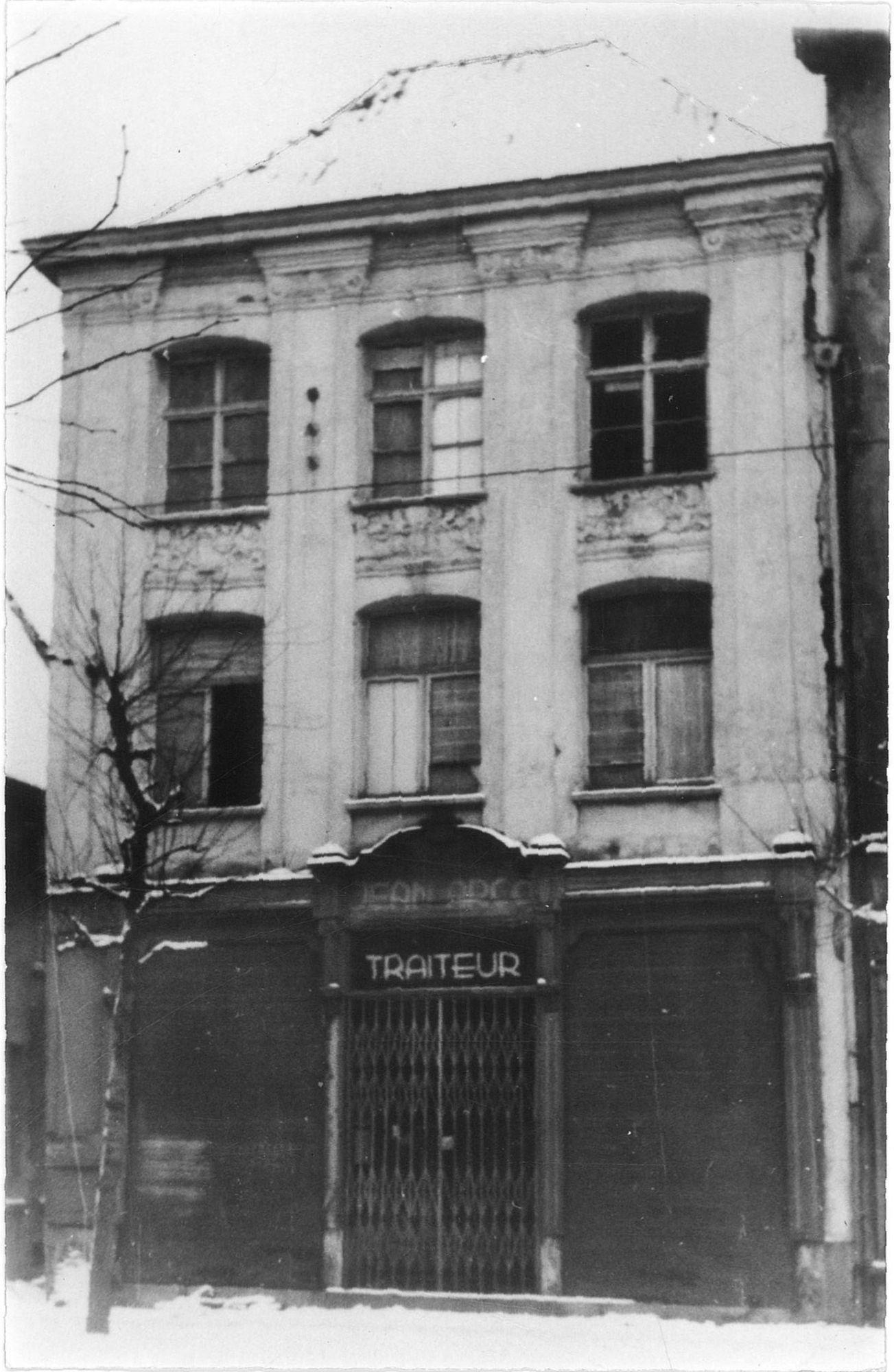 Traiteur Jean Arco in Rijselsestraat 1944-45