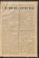 L'echo De Courtrai 1896-09-20