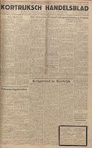 Kortrijksch Handelsblad 23 november 1945 Nr94 p1