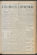 L'echo De Courtrai 1912-09-01