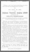 Lenain Stephanus-Franciscus-Josephus