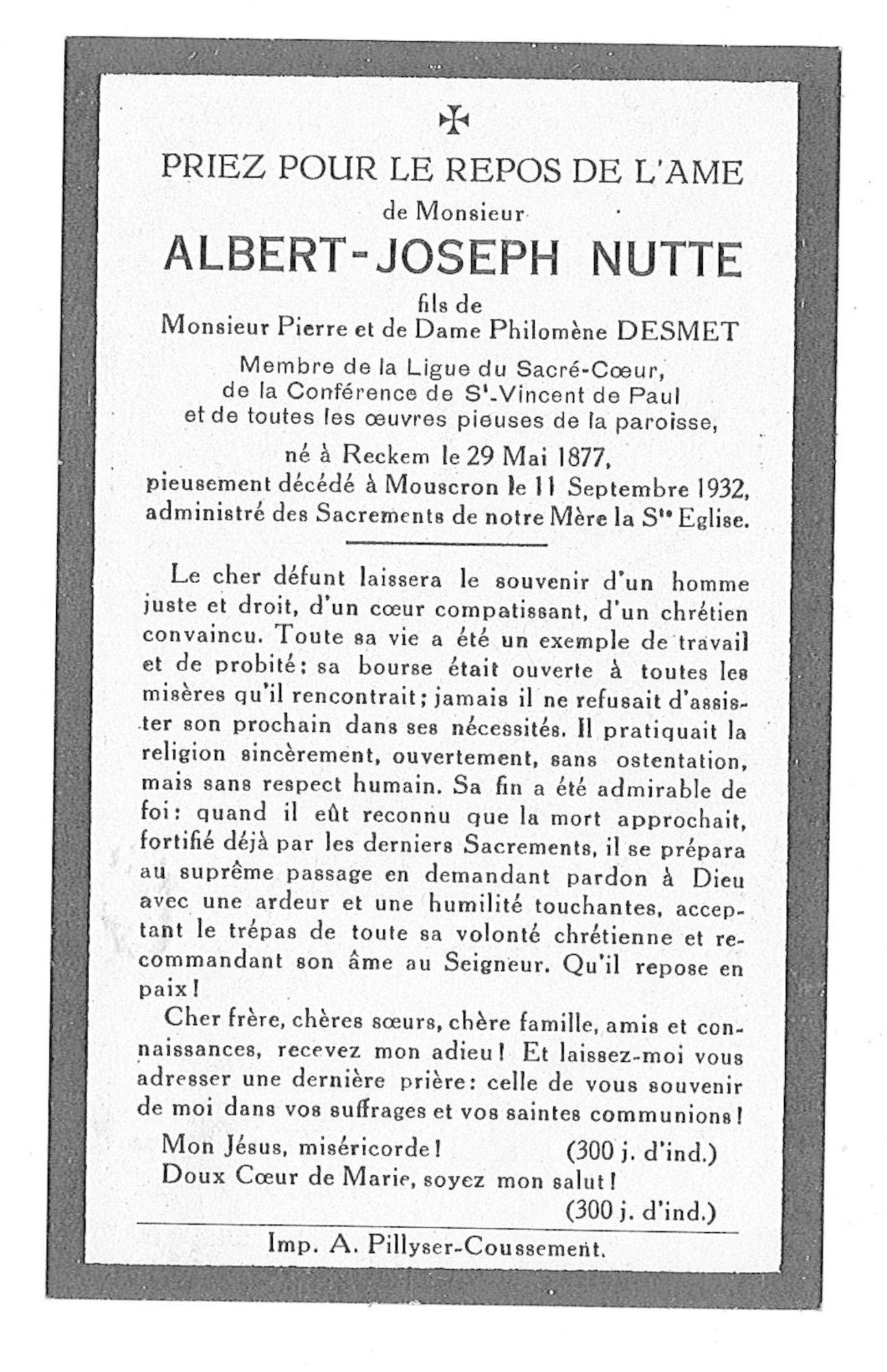 Albert-Joseph Nutte