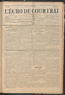 L'echo De Courtrai 1914-02-02