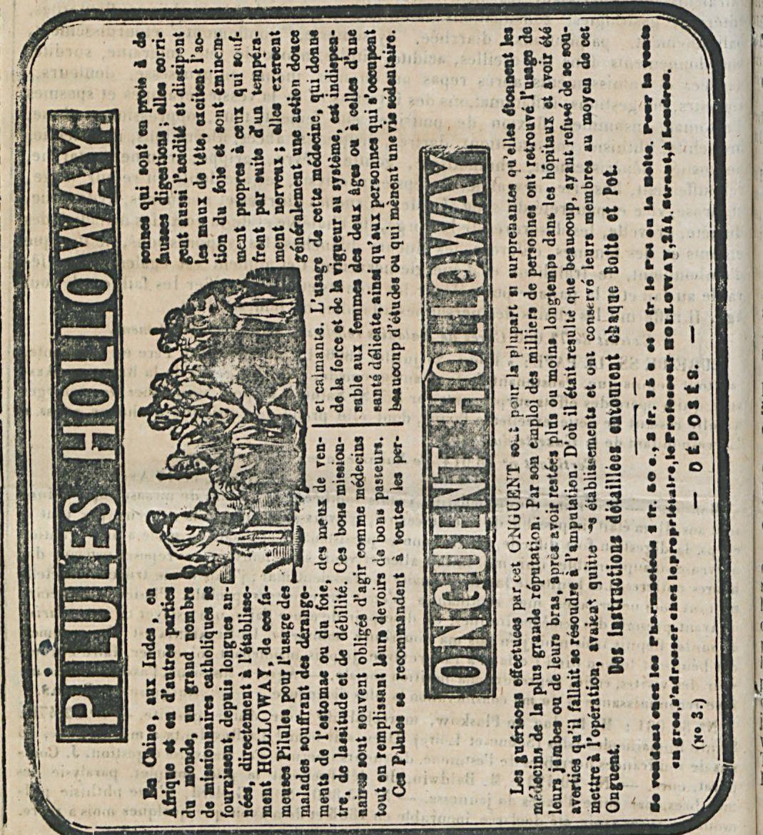 PILULES HOLLOWAY