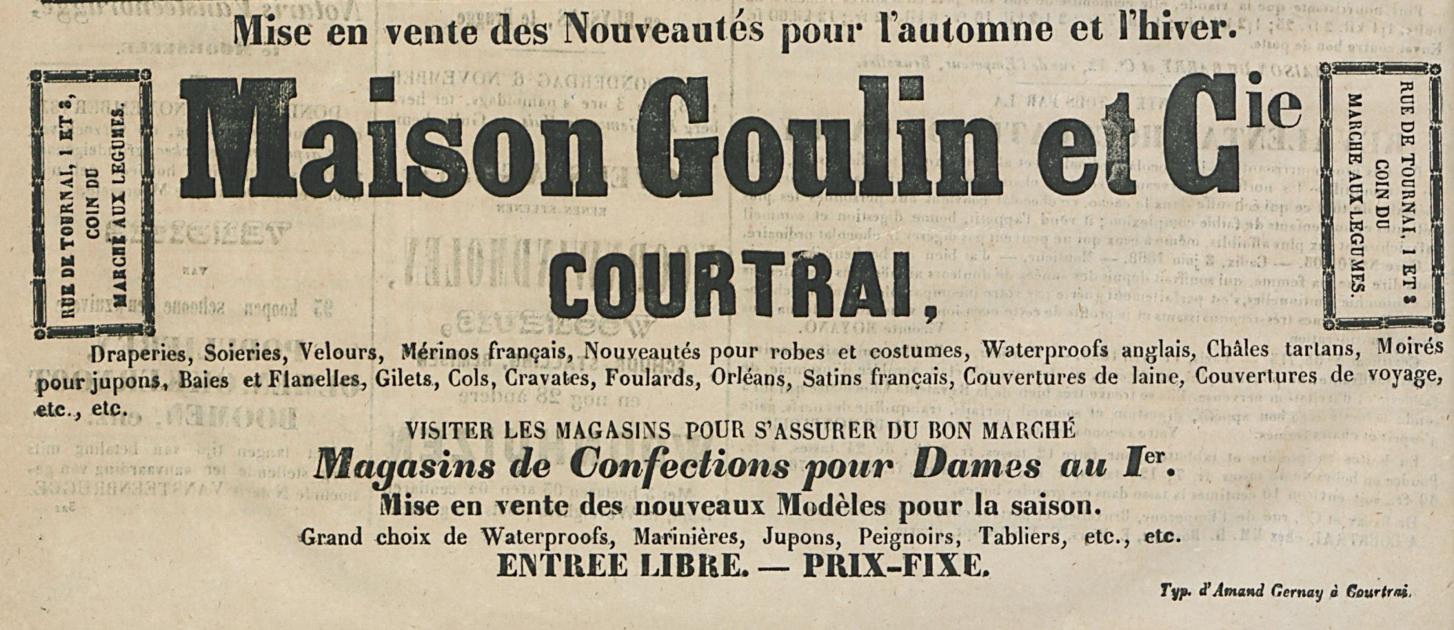 Maison Goulin et cie