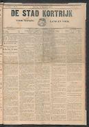 De Stad Kortrijk 1911-12-23