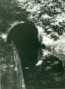 IngangTunnel (Souterrain) op het Kanaal Bossuit-Kortrijk in Moen 1970