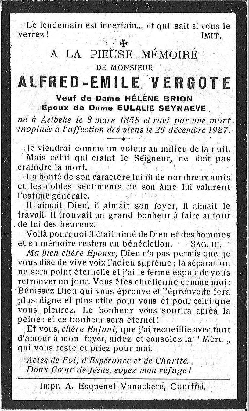 Alfred-Emile Vergote