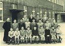 Klasfoto 7e leerjaar Broederschool Overleie 1951-52