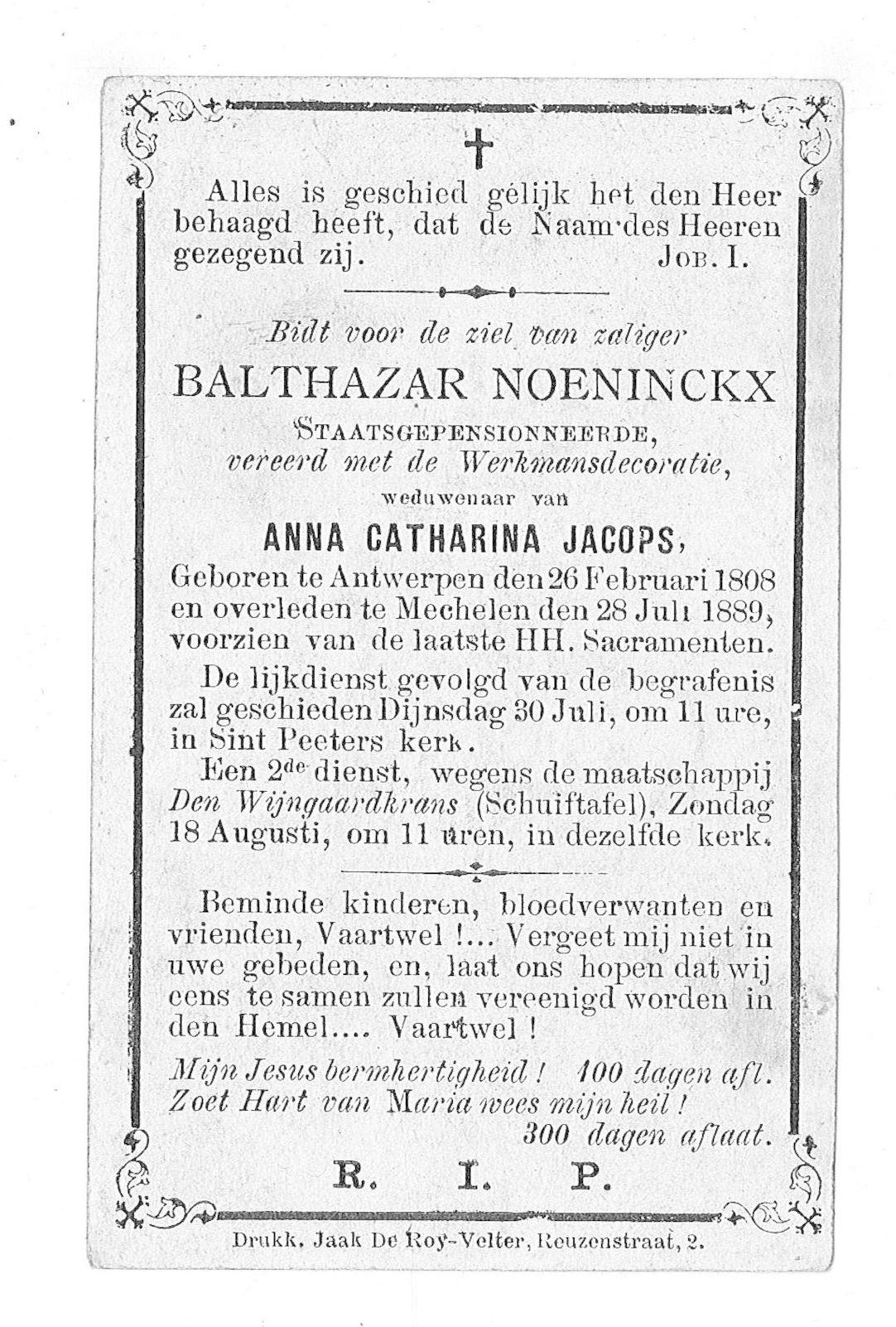 Balthazar Noeninckx