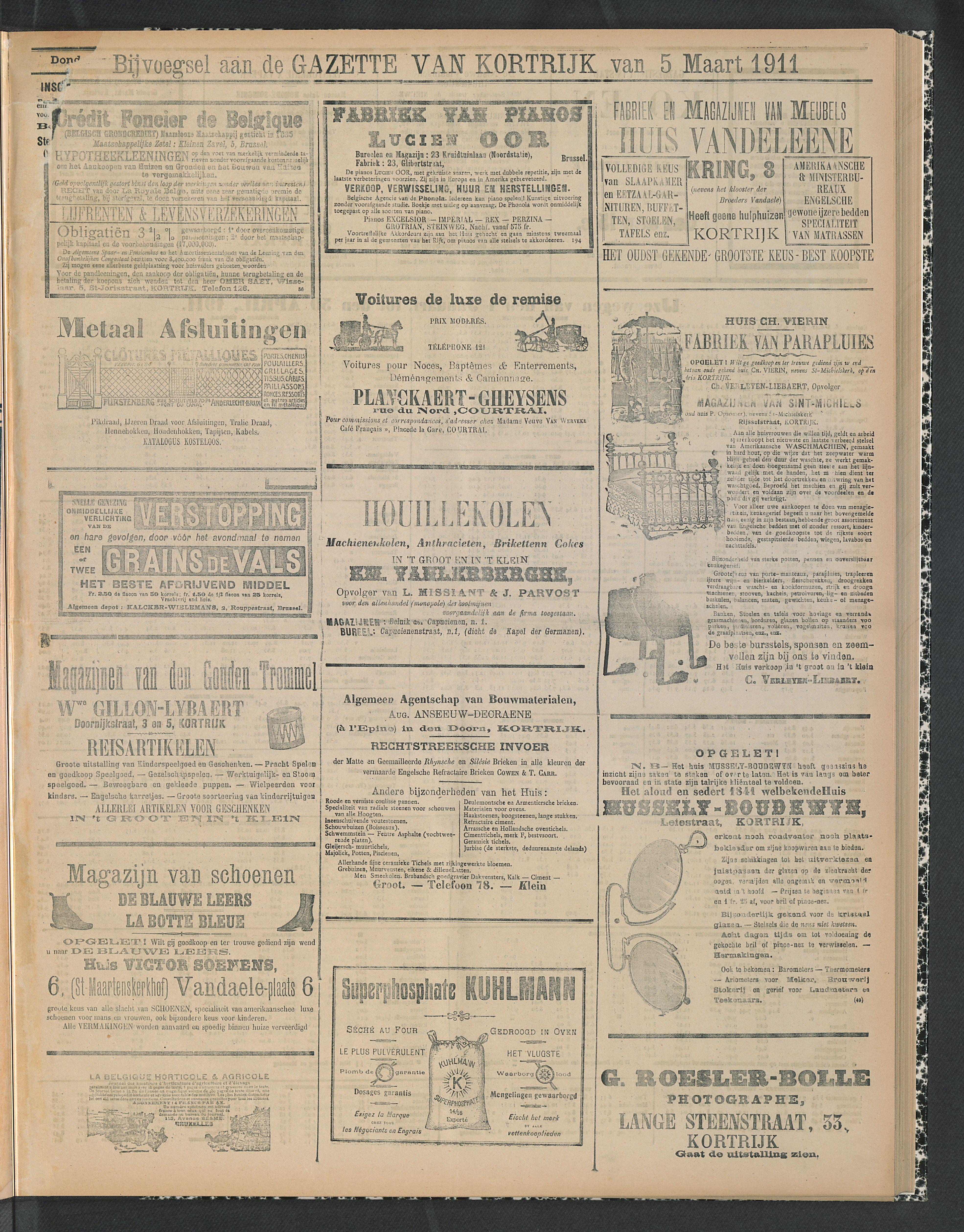 Gazette Van Kortrijk 1911-03-05 p5