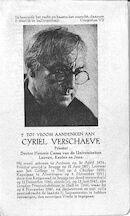 Cyriel Verschaeve
