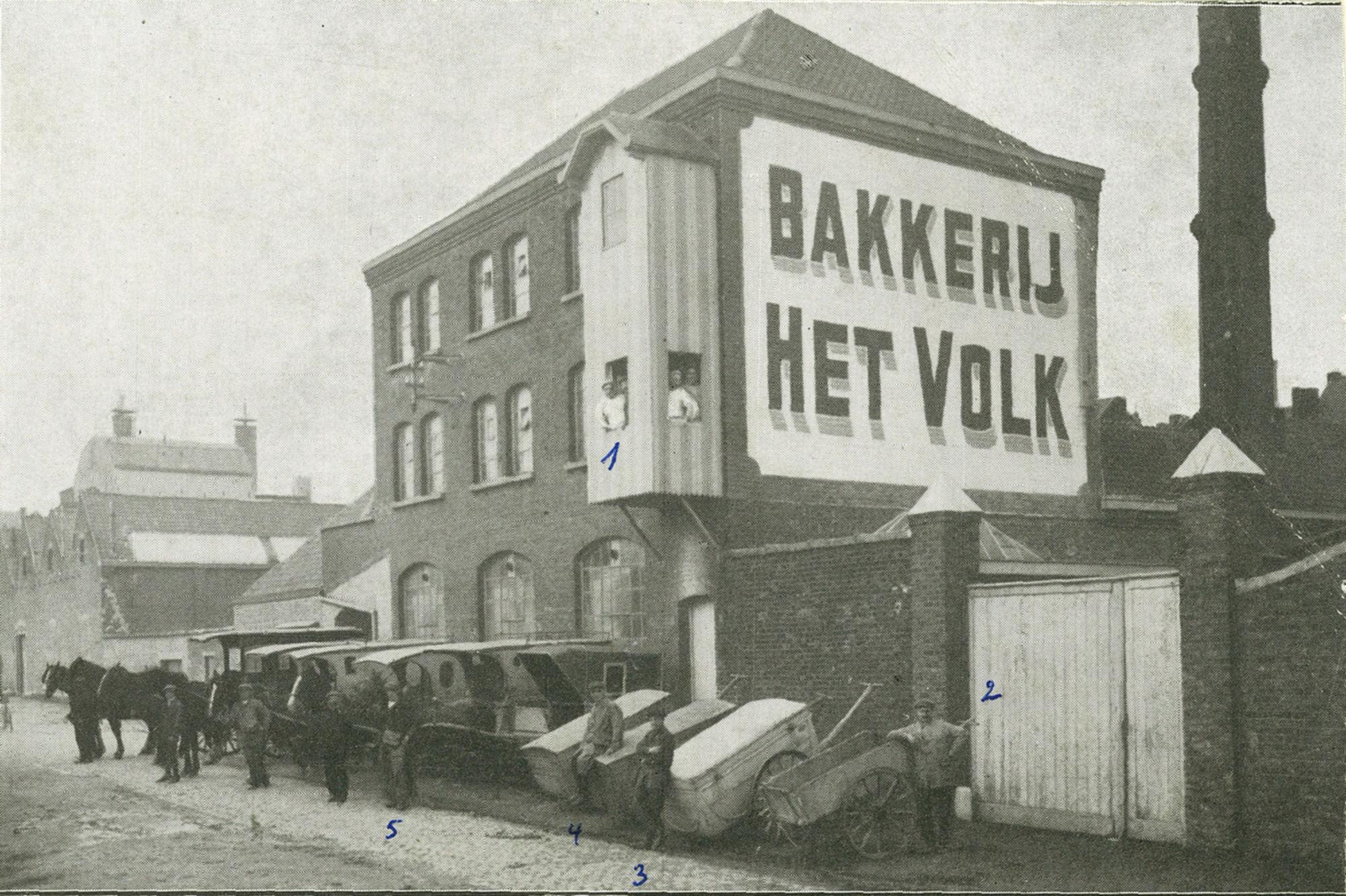 Bakkerij Het Volk in de Doornstraat