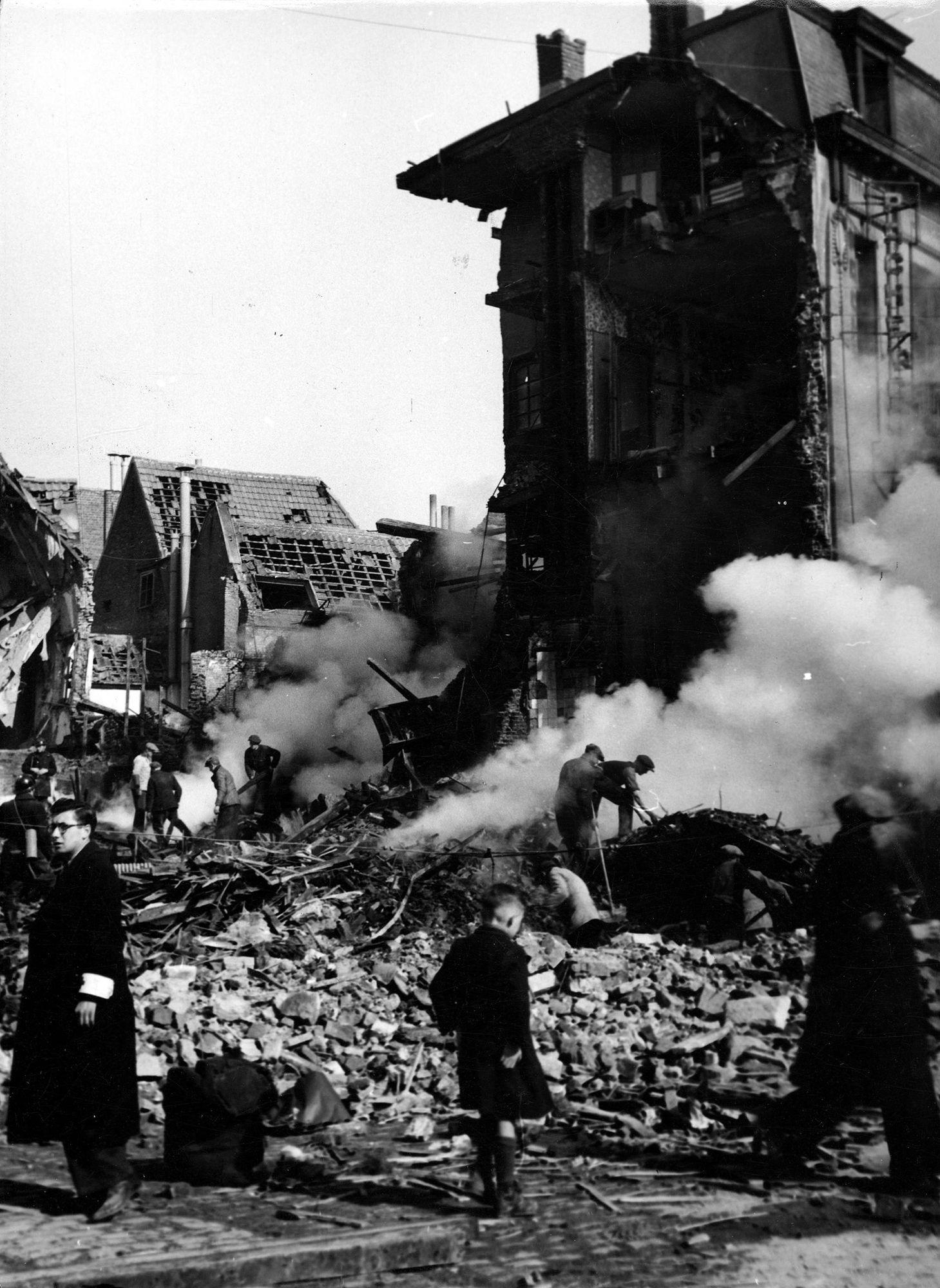 't Katje op de Grote Markt  26 maart 1944