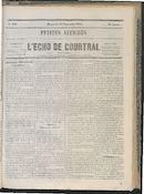 L'echo De Courtrai 1864-09-25