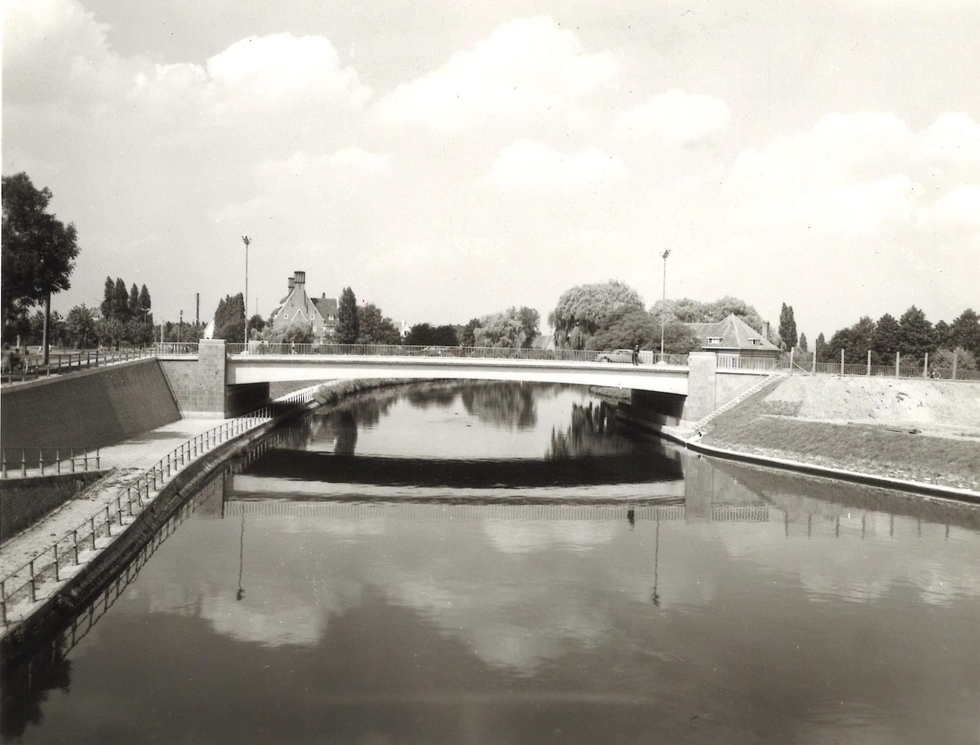 Groeningebrug 1957