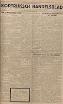 Kortrijksch Handelsblad 16 november 1945 Nr92
