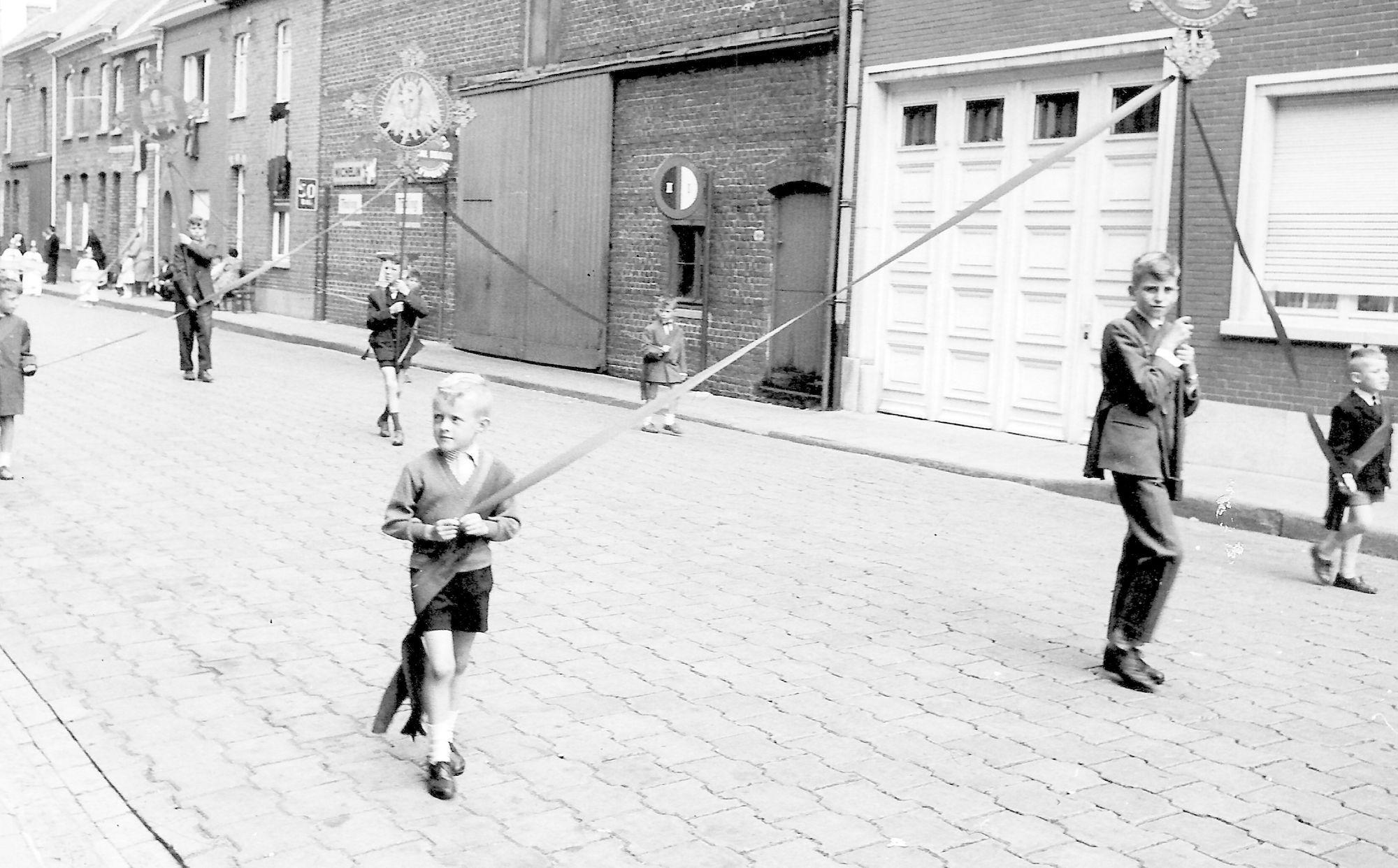 Kerkstraat Marke einde jaren 1950