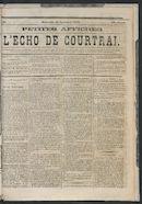 L'echo De Courtrai 1873-11-23 p1