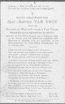 Van Esch Jean-Baptist