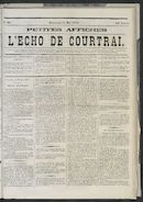 L'echo De Courtrai 1873-05-11