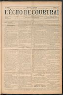 L'echo De Courtrai 1911-08-06