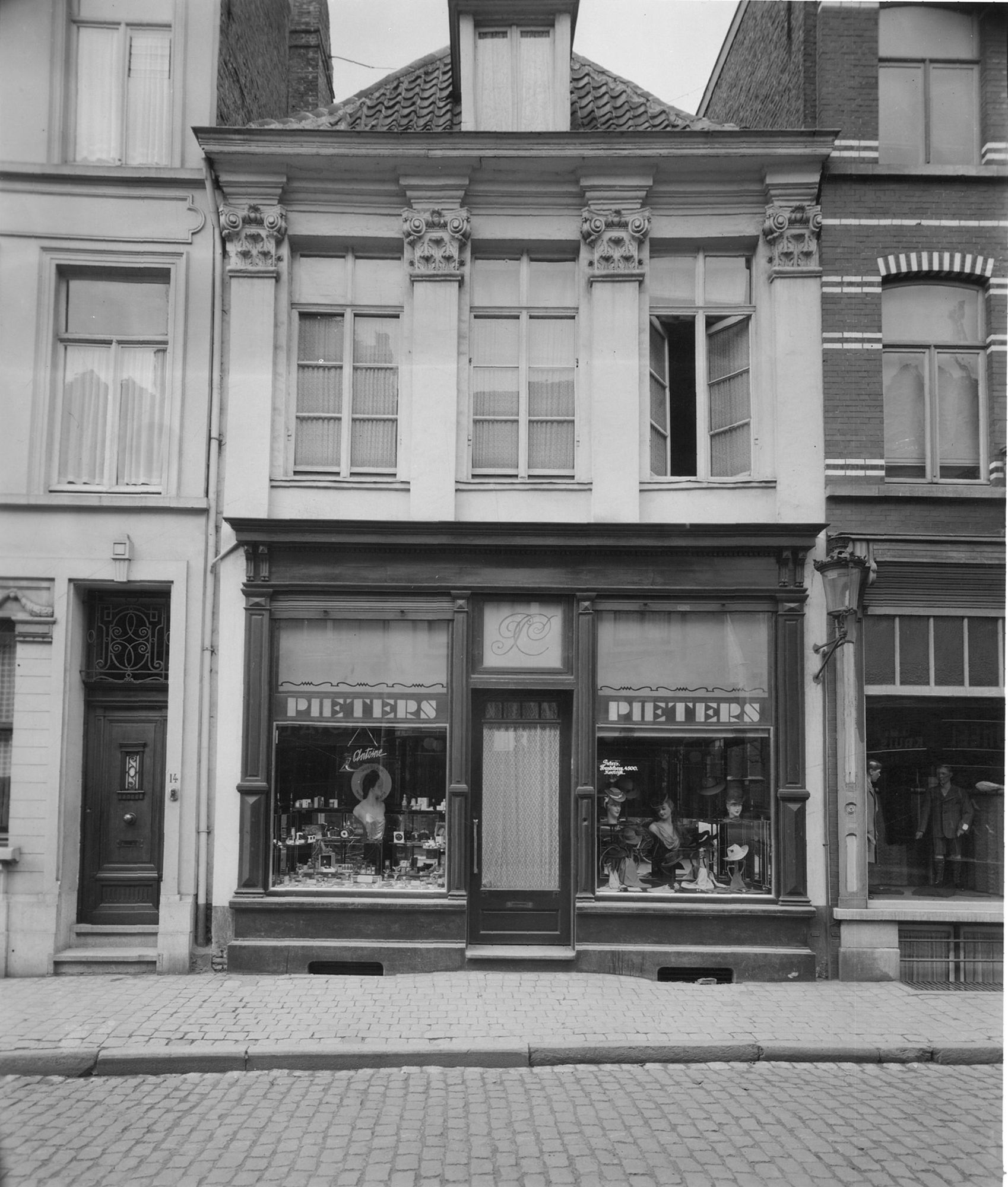 Huis Pieters in de Korte Steenstraat