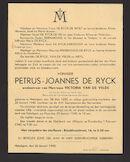 Petrus-Joannes De Ryck