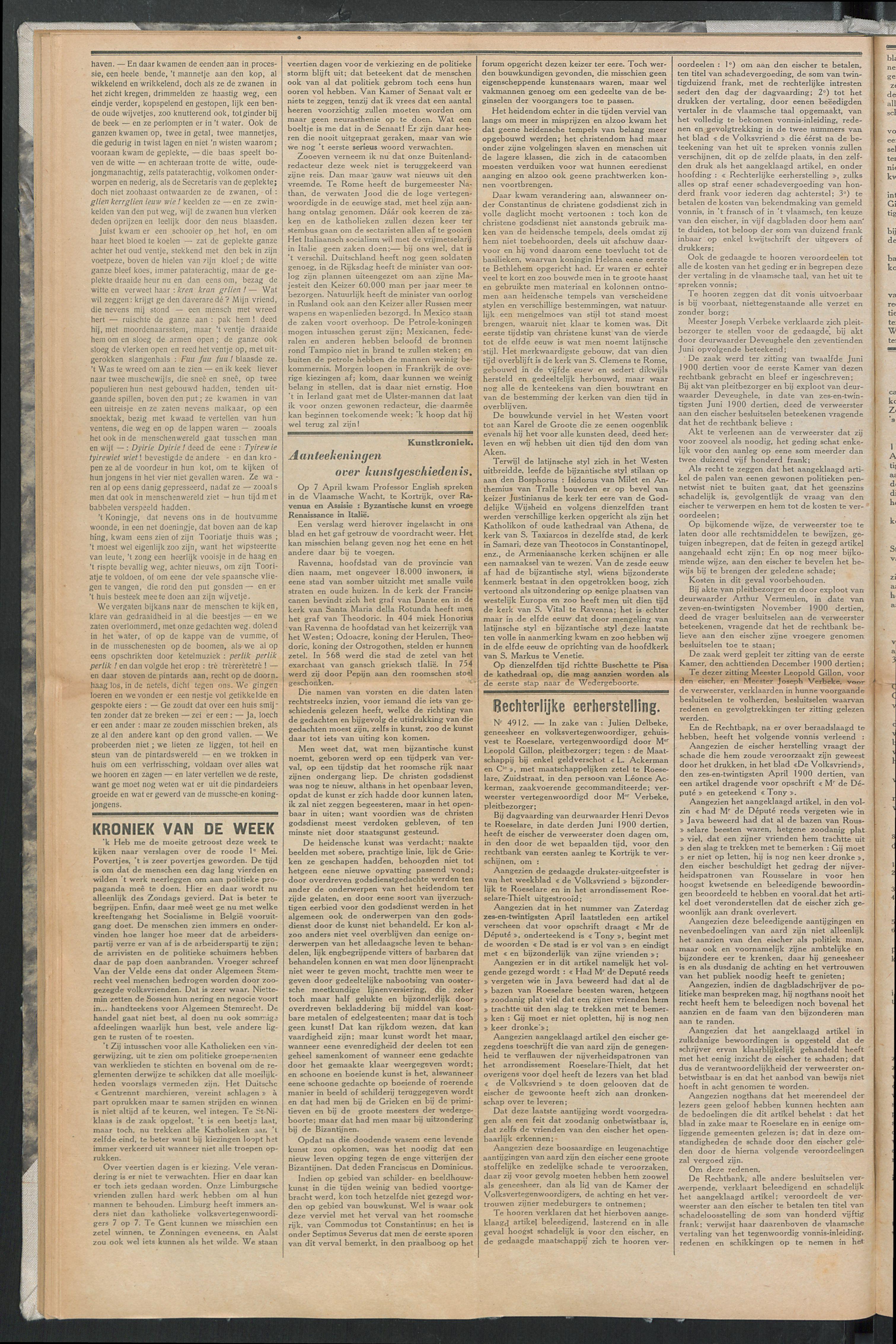 Het Kortrijksche Volk 1914-05-10 p2