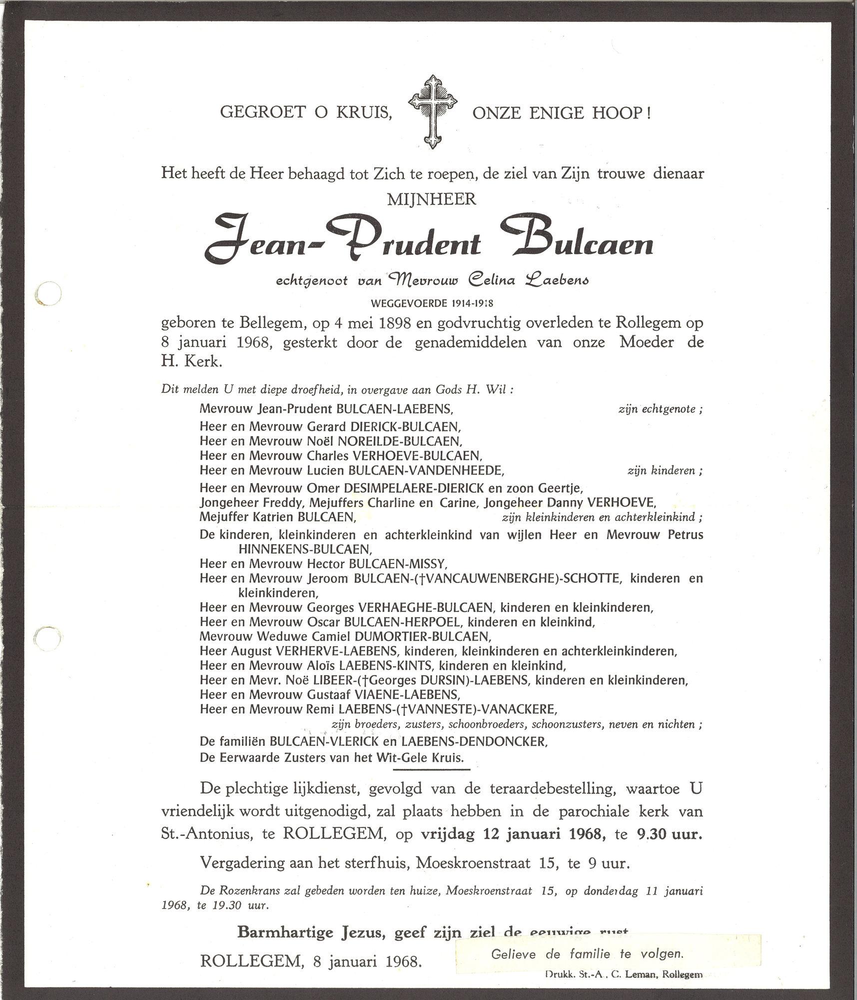 Balcaen Jean-Prudent