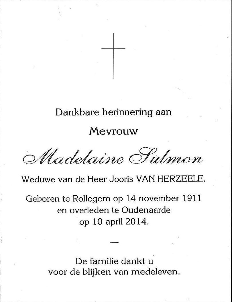 Madeleine Sulmon