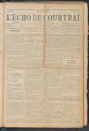 L'echo De Courtrai 1911-04-02 p1