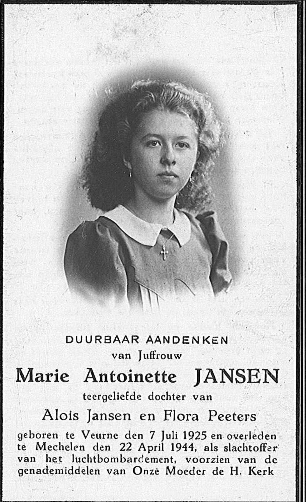 Marie-Antoinette Jansen