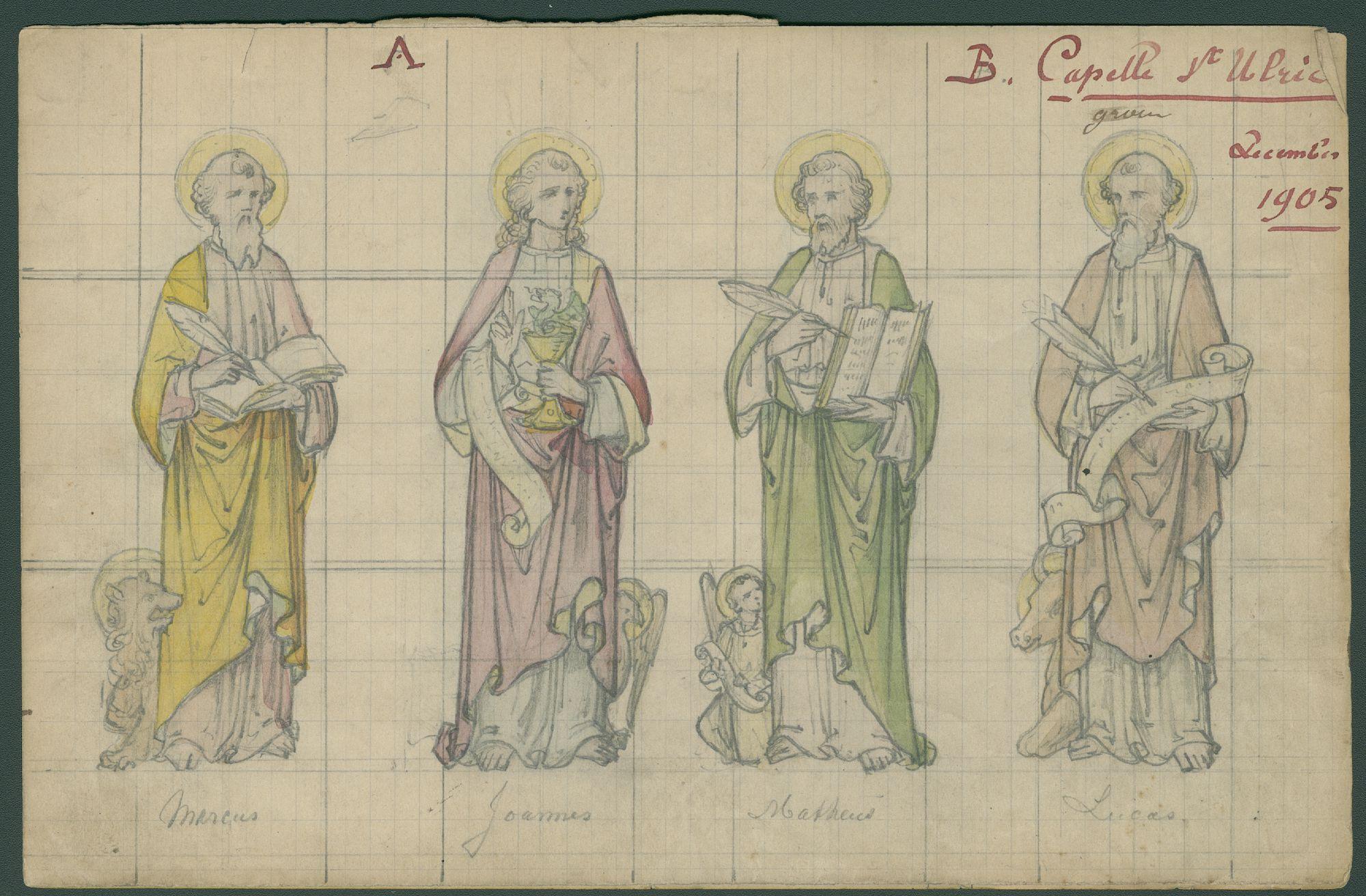 Westflandrica - ontwerp voor glasramen