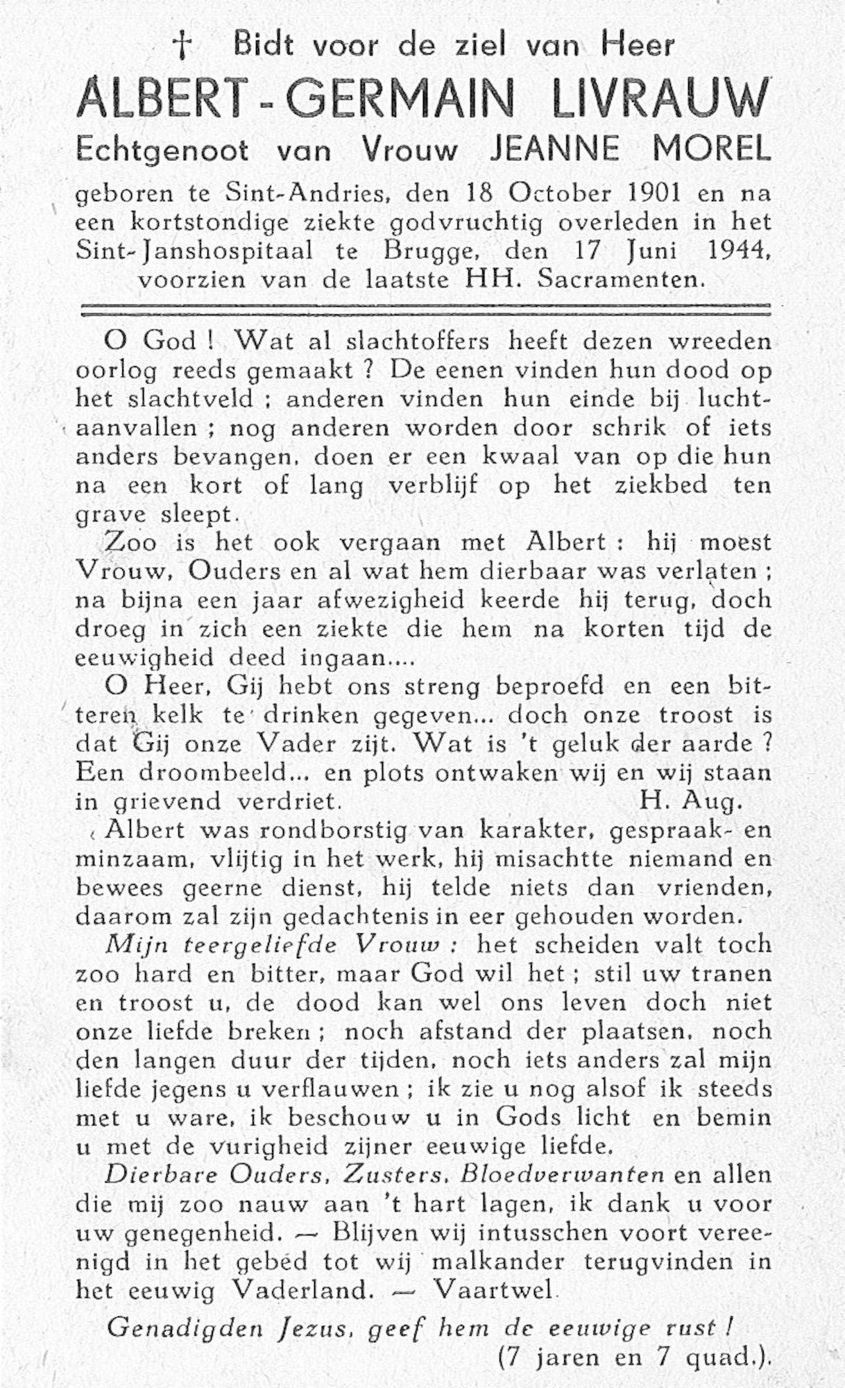 Albert-Germain Livrauw