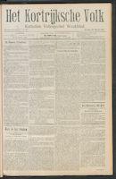 Het Kortrijksche Volk 1911-03-26