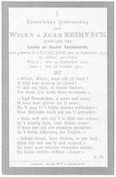 Willy en Jean Neirynck