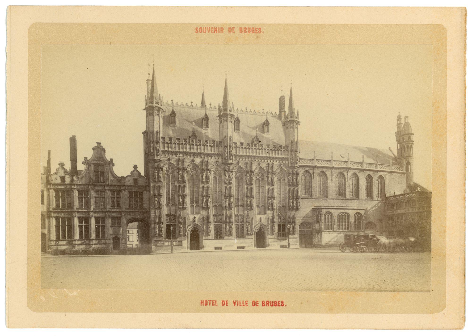 Westflandrica - het stadhuis van Brugge