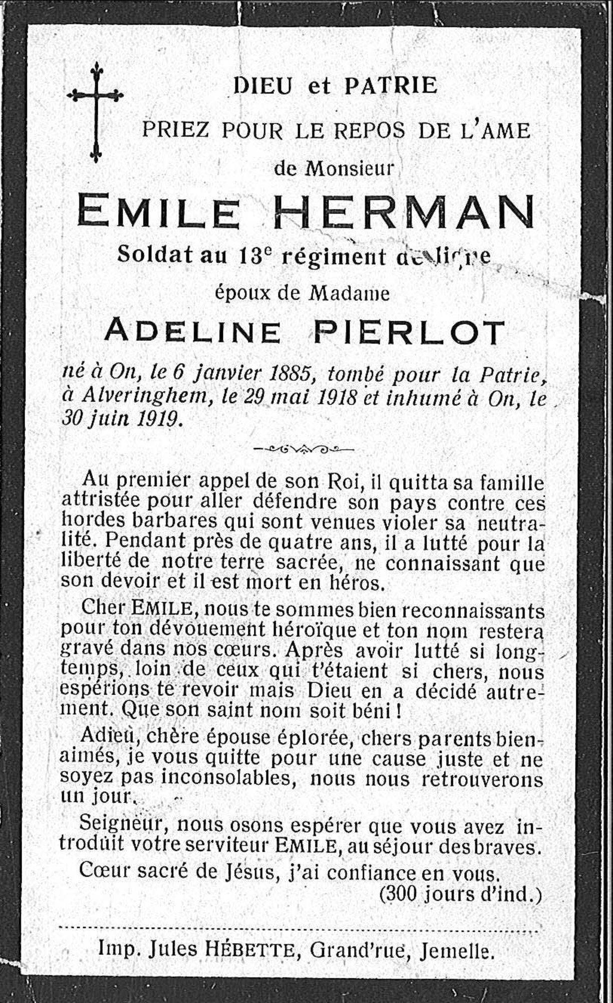 Emile Herman