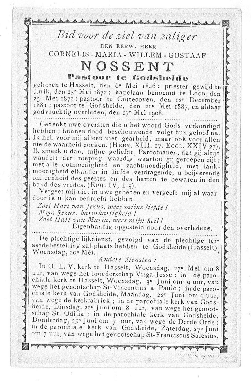 Cornelis-Maria-Willem-Gustaaf Nossent