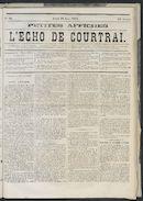 L'echo De Courtrai 1873-06-19